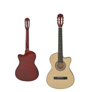 38 pulgadas guitarra acústica para principiantes Introducción La práctica de Instrumentos de cuerda