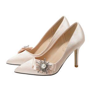 Mode Luxus-Designer-weinrot Frauen Schuhe mit hohen Stilettos Hochzeit Schuhe billig weiß Braut Partei formal tanzen sexy Abendschuh