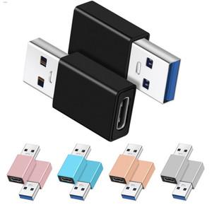Erkek için USB 3.0 Adaptör Dönüştürücü Bağlayıcı Metal Altın Kaplama İçin Akıllı cep telefonu c yazın