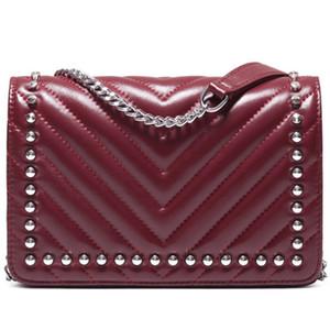 Mulheres sacos bolsas Bolsa Caviar de couro de carneiro Moda bolsa Mulheres Messenger Bag por Mulheres Handbag