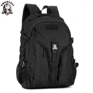 SINAIRSOFT Tactical Escalada Shoulder Bag Waterproof Outdoor equitação Mochila Computer Camping Backpack Nylon Mochila