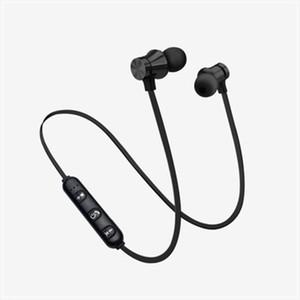سماعات بلوتوث اللاسلكية المغناطيسي رياضة الجري سماعات الرأس BT 4.2 مع هيئة التصنيع العسكري MP3 ياربود للحصول على LG الهواتف الذكية في صندوق