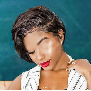 Avrupa ve Amerikan Yeni Peruk Kısmi Kısa Kıvırcık Saç Fluffy'yi Ultra Kısa Kimyasal Elyaf Saç Şapka Fabrikası Doğrudan bir Generation Womens