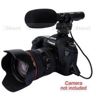 Canon EOS 5D Mark III / 5D Mark II / 7D / 6D 70D / 60D / 760D, 750D, 700D / 650D / 600D / 100D EOS-M Freeshipping MIC DC / DV Stereo Mikrofon