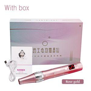 Électrique Dr.Pen Nano-électrique cristallites Microblading Tattoo Maquillage Permanente machine Sourcils Eyeliner lèvres Micro Needling Pen
