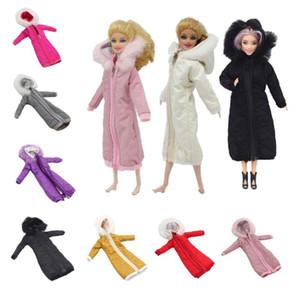 Довольно длинное пальто платье из хлопка 1/6 Одежда Игрушка Зимняя одежда Свадебное платье юбка 1/6 BJD куклы куртки пальто Аксессуары для Barbies