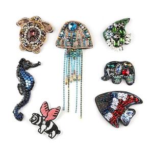 Adesivi per le perle di cucire fatte a mano Adesivi per gli scarafazioni Animali Scarabeo degli animali Insetto Cucire su Abbigliamento Cappelli Borsa Accessori perline perline perline fai da te Distintivi di strass