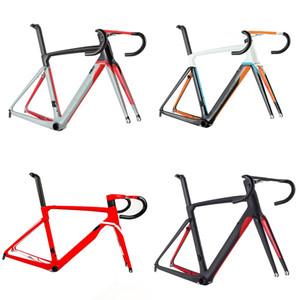 2019 Cento 10 hava yol karbon fiber bisiklet bisiklet çerçeve yol bisikleti çerçeve çatal kelepçe seatpost ALABARD Karbon gidon spacer