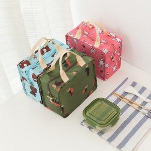 Оптовая Оксфорд Изолированный обед мешок Женщины Cooler Lunch Box Контейнер для хранения сумки сумка для детей
