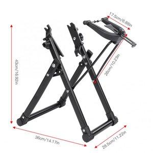 Rueda de bicicleta truing estante del soporte Soporte Inicio Soporte de centrado mecánico de mantenimiento de ruedas de bicicletas herramienta de reparación