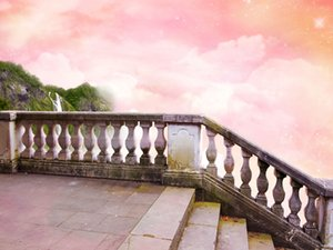 Gothic Fairy Tale Fantastic Sky Vinyl Photography Backdrops New Baby Photo Booth Backgrounds for Children Studio Prop