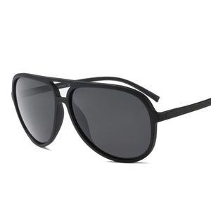Vazrobe (150mm) Mens Polarized Sunglasses Tr90 Driving Sun Glasses For Man Black Vintage Aviation Sunglasses-men Quality Uv400 C19022501