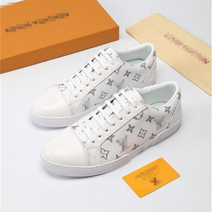 luxury desigenr 360 2019 Top Quality FD sneaker shoes genuine luxury designer leather Gift mens Racer Hot sale Sports casual sneakers l