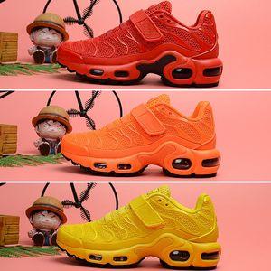 Nike Tn Plus air max Mercurial 2.0 2018 New Plus VM Black White Детская обувь Кроссовки обувной пакет Трехместный детский мальчик и девочки Air Ultra TN кроссовки