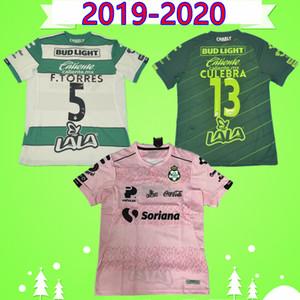 Santos Laguna de Futebol 2019 2020 LIGA México MX Clube FC 19 20 ROSA Football Shirt FURCH GARNICA LOZANO CASTILLO Camiseta de fútbol