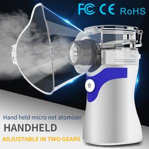 2020 nuevas haber llegado bajo la FDA CE uso fácil ruido certificado de fábrica nebulizador ultrasónico portátil al por mayor de malla