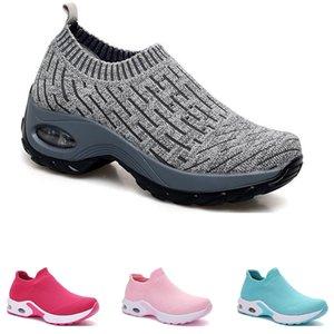 tamaño 35-42 envío libre 2019 zapatillas de deporte nuevo envío toda la venta gota clásicos negro, blanco, verde gris calcetines deportivos zapatillas de deporte
