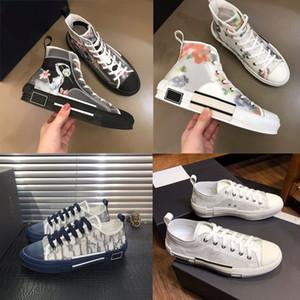 Designer Sneaker 2020 B23 High Low Top Luxuxweinlese Plattform Oblique Neuer Mann-Frauen Fashion Outdoor Freizeitschuh Lauf Sneaker Größe 35-44