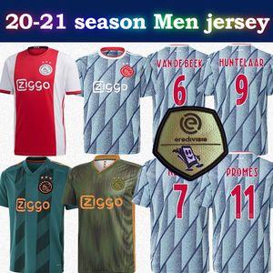 20-21 camisa de futebol Ajax afastado # 11 PROMES # 22 ZIYECH 2020 Homens Ajax camisa de futebol personalizada camisa de futebol Hot-venda