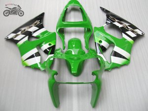 Motorcycle Injection fairing kit for Kawasaki ZX-6R 636 00 01 02 ZX636 ZX6R 2000 2001 2002 ABS plastic aftermarket fairings set