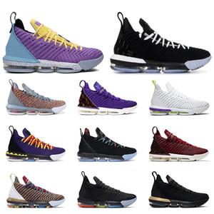 Nouveaux lebron james hommes chaussures de basket-ball Martin ÉGALITÉ BRED I Promise FRESH trainer hommes respirant 16 chaussures de sport de sport en vente