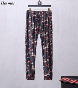 Tagged new fashion crime sports pants brand autumn tracking men's jogging pants long pants M-3XL yards men's clothes #~~#QE1