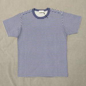 19ss Marina T-shirts Topstoney Pigment Immagine stampata banda magliette degli uomini e le coppie donne Camicie Confortevole HFWPTX366