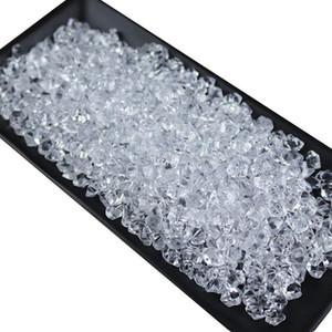 1 Falsi pacchetto di simulazione di ghiaccio blocco acrilico Ice Cube decorativo Crushed accessori Ice Rock For Fotografia Prop la decorazione domestica