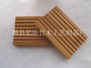 Savons New Wave Savons En Bambou Box Simple Bain Douche Rack Salle De Bains Accessoires Vente Chaude 3 1lh E1