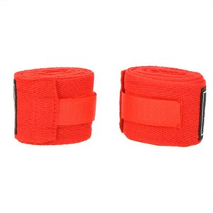 2pcs roll 100% Cotton Elastic Bandage Hand Sport Wristband Gym Support Wrist Brace Wrap carpal tunnel Boxing Sanda Muay Thai