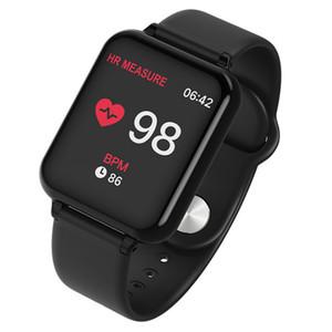 B57C Braccialetto sportivo per la salute Misura di supporto della frequenza cardiaca, pressione sanguigna e passaggi di ossimetro