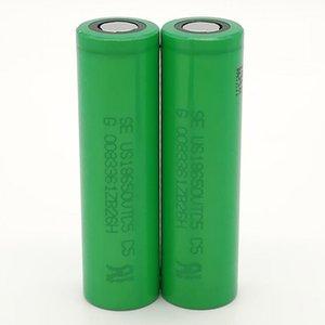 500pcs% 100 SONY VTC5 18650 Pil 2600mAh 3.7V 35A Şarjlı lityum piller Fedex, UPS Ücretsiz Nakliye yüksek kalitede