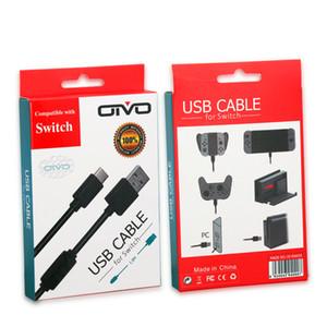 Для игровой консоли Nintendo Switch Длина кабеля передачи данных USB 3.0 Type-C 1,8 м с оригинальной розничной упаковкой зарядная линия высокого качества