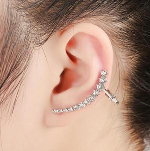 Livraison gratuite Mixed 20pcs alliage personnalité femmes diamants cristal Boucles d'oreilles clips oreille broches d'oreille Dance Party Lolita Punk Skull Bijoux 53