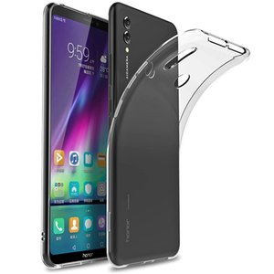 Clear Soft TPU Case For Huawei Honor Note 10 Back Cover Shell Phone Silicone Protective Cases Skins Coque