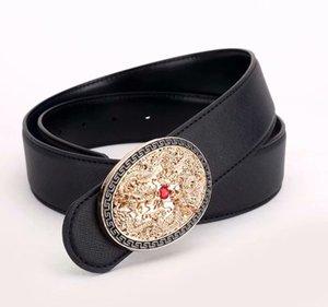 Miem Fashion Designer Men And Women Belts, Commondly Wild Automatic Metal Buckel Belt بالجملة 7003-5550