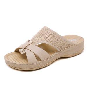 Желания Sandals2020 Нового стиль Большого размер Casual Maternity Мать Обувь Тапочки оптовая