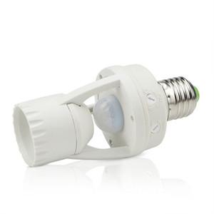 Glühlampe der E27-Schraubensockel-hohe Empfindlichkeit PIR-menschlicher Körper-Bewegungs-Sensor-LED-Lampe mit Steuerschalter-Birne