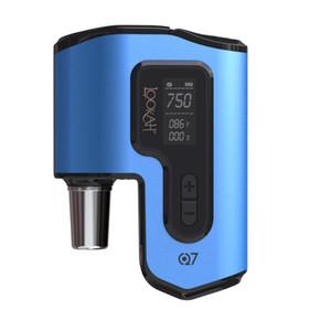 lookah kits Q7 vaporizador enail con cuarzo plato Cámara de precalentamiento para DAB auténtico dd envío libre plataforma 100%