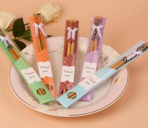 Bambus Stäbchen Praktische Chopstick Natur Verholzung der neuen Art-Ess-Stäbchen Personalisierte Hochzeit Bevorzugungen Werbegeschenke Geschenk Heißer Verkaufs