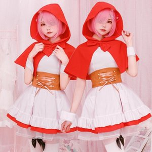 Ream peu robe cosplay Red Hat Ream Vêtements de Noël Little Red Hat châle robe manteau