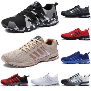 2020 running casual shoes men women black white blue grey Breathable cushion soft mens tainers outdoor sports sneakers size 36-45 Color9