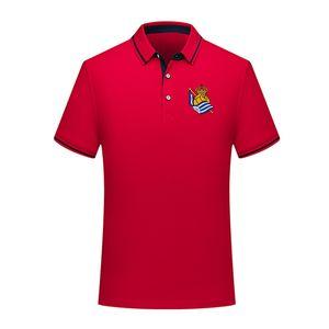 real sociedad 2020 Negocio POLO POLO cómodos ocasionales de fútbol hombres de la camisa de manga corta de los hombres de polo de fútbol entrenamiento de la camisa de polo