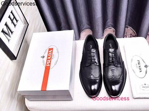 2020 chaussures mens dress formal Leather Shoes platform wan1