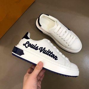 Louis Vuitton LV shoes Üst Kalite Yeni Tasarımcı Ayakkabı ACE İşlemeli Erkek Deri Tasarımcı Sneaker Casual Shoes39-44