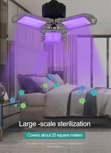 À double usage pliant UV désinfectant germicide lampe ampoule de poche uv lumière désinfection Lampe Home Office Garage Lumière outil de nettoyage