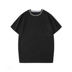 Luxury Mens Stylist T Shirts Black White Red Mens Fashion Stylist T Shirts Top Short Sleeve S-XXL