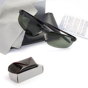 10 pezzi di alta qualità da uomo di marca designer occhiali da sole occhiali da sole polarizzati guida drago occhiali da sole occhiali unisex con astucci e scatola originali