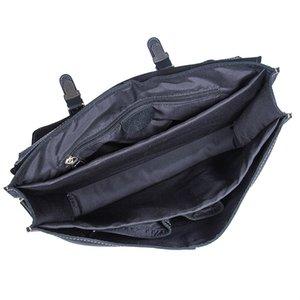 Leather Unique Briefcases Design Laptop Bag Leather Cow Genuine Black Designer-Men's Computer Busniess Classic Bag Handbag Ejulm