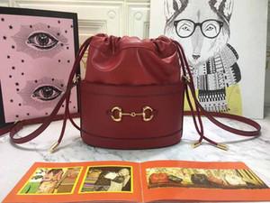 дизайнер роскошь сумка кошелек 1955 Horsebit ведра из натуральной кожи большого качества женщин моды тотализаторы плечо Кроссбоди дизайнер кошелек сумка